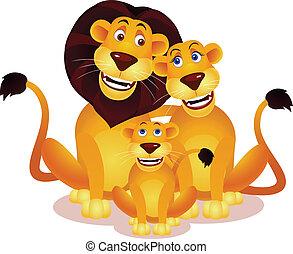 oroszlán, család