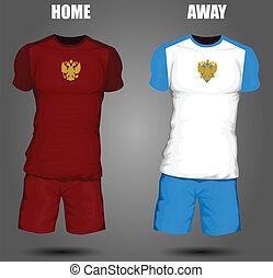 oroszország, futball, mez
