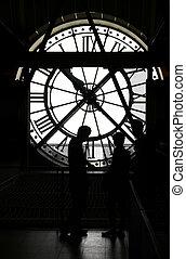 orsay 博物館, 鐘, 黑色半面畫像