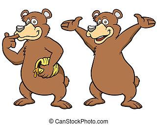 orso marrone