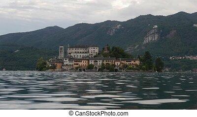 Orta Italian Lake - San Giulio Isle, Orta Lake, Piedmont, ...