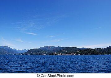 Orta lake, Italy
