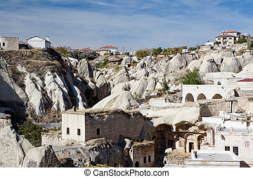 Ortahisar old houses, Cappadocia