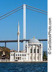 Ortakoy Mosque and bridge