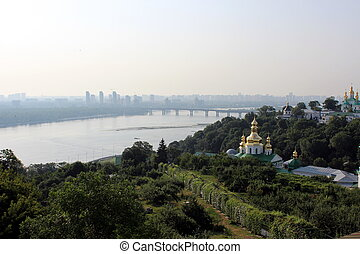 orthod, pechersk, vista, kiev, lavra