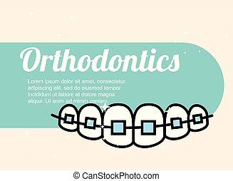 orthodontics dental care banner