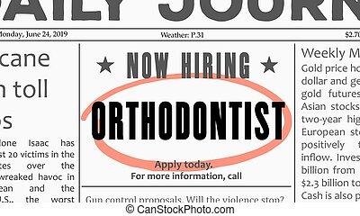 Orthodontist career