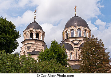 Orthodox Church Domes