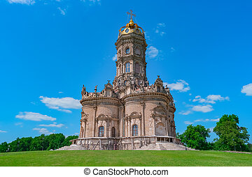 Orthodox Church in baroque style, Russia