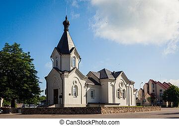 Orthodox church in Merkine