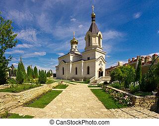 Orthodox church in Moldova