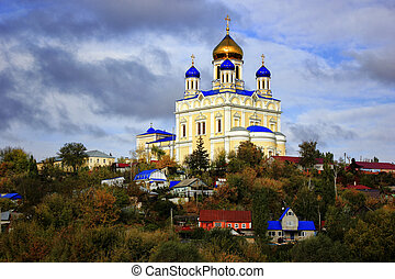 Orthodox church in the city.