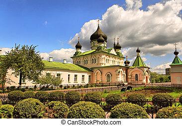 Orthodox church, Kiev, Ukraine