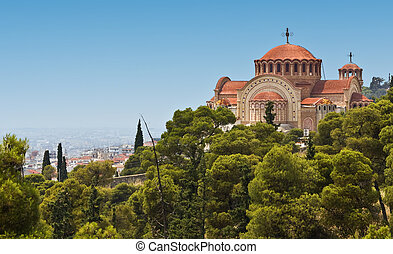 Orthodox church of Saint Pavlo at Thessaloniki, Greece
