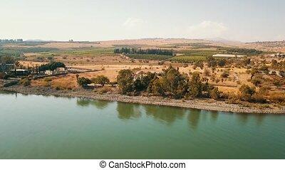Orthodox Church of the 12 apostles. Sea of Galilee....