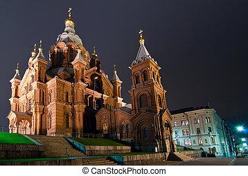 Orthodox Church. - Orthodox Church in Helsinki. Finland.