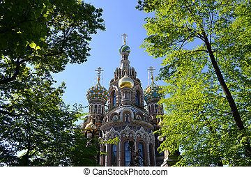 "Orthodox Church ""Spas na Krovi"", St.Petersburg, Russia...."