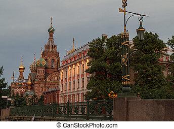 "Orthodox Church ""Spas na Krovi"". - Saint Petersburg, Russia,..."