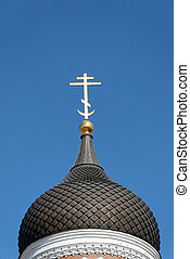 Orthodox Cross and Dome