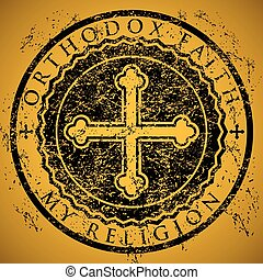 Orthodox Faith - An illustration of the cross as the symbol...