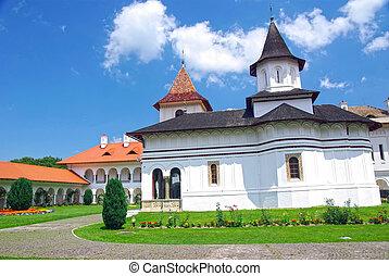 Orthodox monastery - The orthodox monastery of Sambata in...