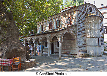 Orthodox old church in Greece