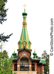 Orthodox temple - Temple of Holy Transfiguration of Valaam...