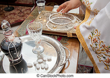 Orthodox wedding concept