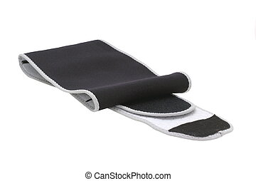 orthopaedic equipment - medical band for girdle isolated...