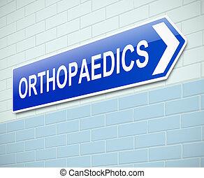 Orthopaedics sign.