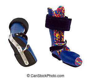 Orthopedic equipment for the correction of clubfoot in...