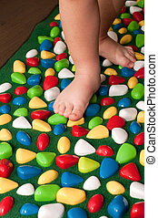 Orthopedic rug for children