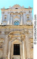 Ortigia street view, Syracuse, Sicily, Italy. - Ortigia...
