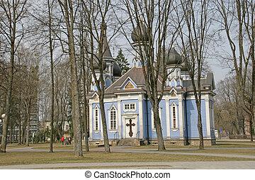 Ortodox church in Druskininkai