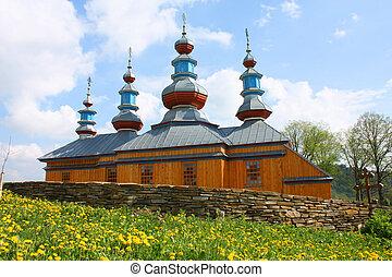 ortodox kyrka, in, polen