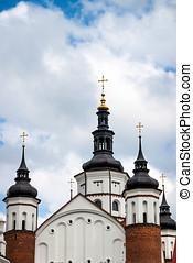 ortodox kyrka, suprasl, polen