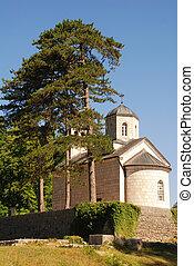 ortodox, montenegro, cetinje, iglesia