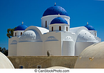 ortodoxo, perissa., igreja