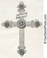 orval, crucifix