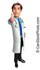 orvos, legjobb, aláír