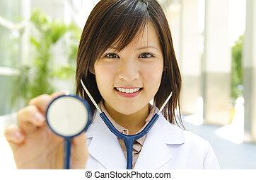 orvosi hallgató