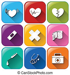 orvosi icons