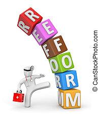 orvosság, ellen, reforms
