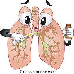 orvosság, köhög