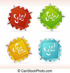 Orygami Sale symbols