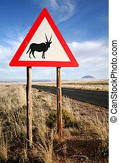 Oryx sign