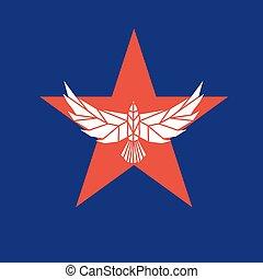 orzeł, gwiazda, logo