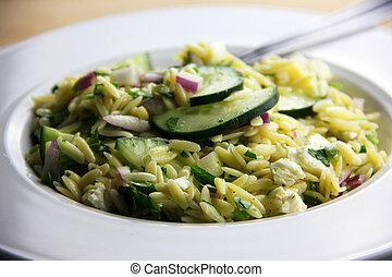 orzo, ensalada
