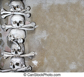 os, crânes, humain