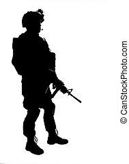 os, soldat
